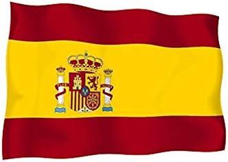Skin adhesivo decorativo, diseño de bandera de España español, moto o coche vinilo Adhesivo de vinilo: Amazon.es: Juguetes y juegos