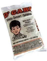 Dgari, Gelatin Prep Milk Walnut, 6-Ounce