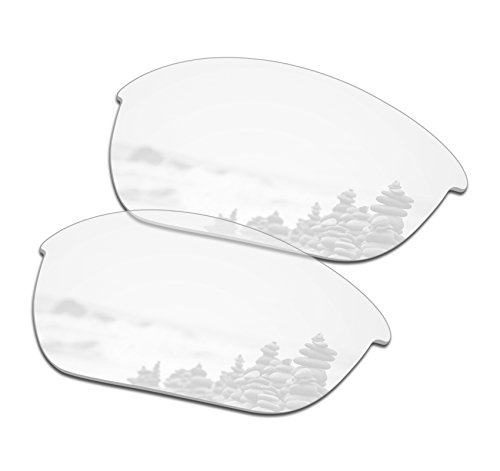 SmartVLT Men's HD Clear Replacement Lenses for Oakley Half Jacket 2.0 OO9144 ()