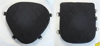 Driver /& Back Passenger Seats Gel Pads Set for Harley Dyna Super Glide FXD FXDCI