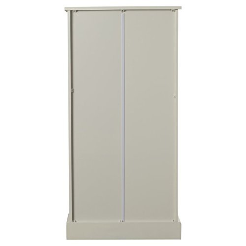 Add This Small Kitchen Organizator 41'' Kitchen Pantry Made of Solid Pine Wood in White Color Buy Your Soon