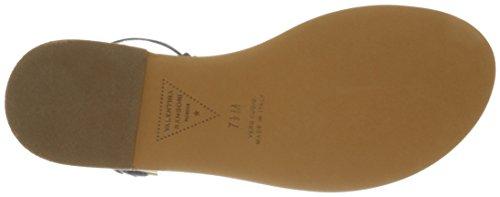 Italia Rangoni Amalfi Navy Sandal Women Flat by gUOOBqwz