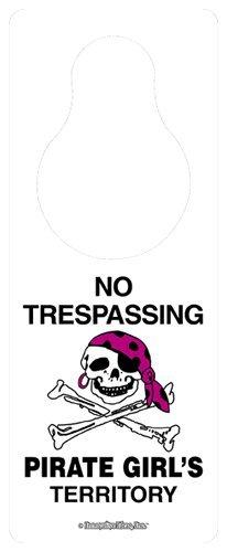 (Pirate Girl door hanger)