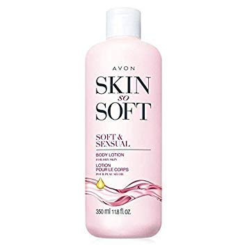 Avon Skin so Soft SSS Ultra Moisturiing Body Lotion Soft & Sensual Argan Oil 11.8oz.