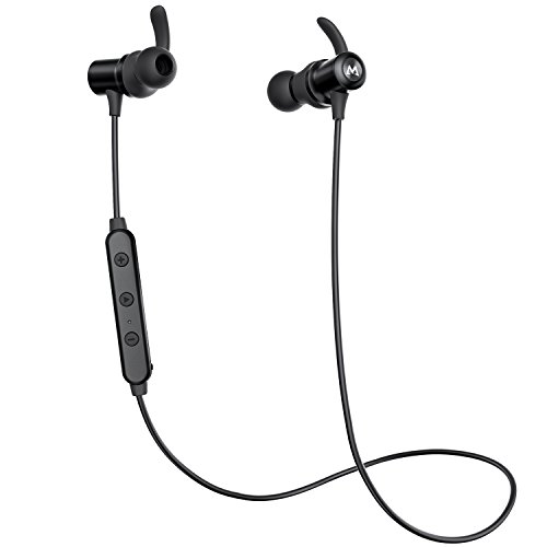 Mpow S6 Bluetooth Headphones Magnetic, aptX Hi-Fidelity Wire