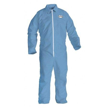 Flame-Resist Coverall, Blue, 2XL, HRC1, PK25