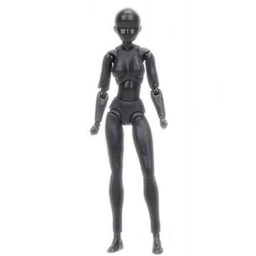 Free Ship Deal Body Kun - Action Figure Models for Artists   Human Mannequin Action Figure Model Set with Accessories Kit for Sketching, Painting, Drawing, Artist
