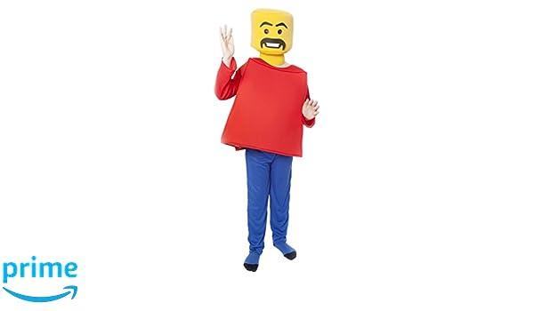 Sr. Block cabeza disfraz de disfraz para niños - talla XL, 12 - 14 años: Amazon.es: Juguetes y juegos