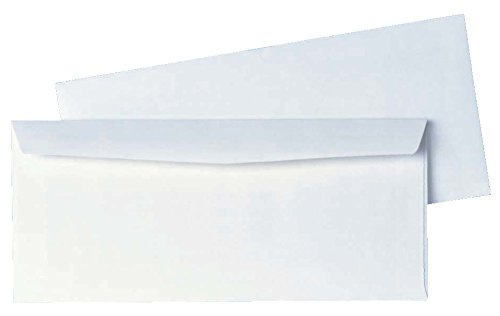 No 10 Envelope Size (Quality Park #10 Business Envelopes, 4.12 x 9.5 Inches, Box of 500, White Wove)