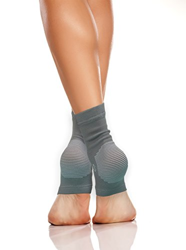 Silhouette Sports Ankle Compression Socks for Men & Women to treat Plantar Fasciitis, Common Foot Pain, Swelling - 1 PAIR - The Best Arch, Heel, and Ankle Support (Small, - Cards Gift Delivery Free Uk