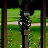 Deckorators Square Estate Baluster Basket - Bronze- 5-Pack (# DB95884)