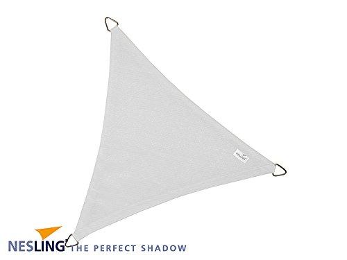 Coolfit Sonnensegel 3,6 x 3,6 m - Farbe: Weiß - SSV: Nur solange Vorrat reicht!