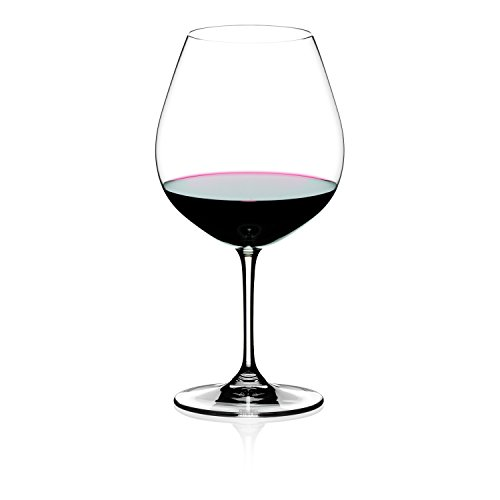 Riedel Vinum Pinot Noir (Burgundy Red) Glasses, Set of 2