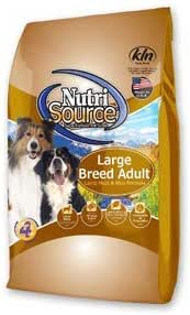 Dog Food: NutriSource Adult Large Breed