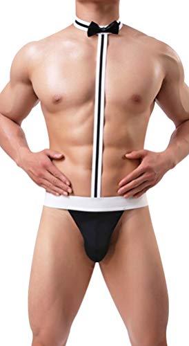 bc0cd0b17deb9 Jual Men s Hot Mankini Costume Swimsuit Swimwear Thong Underwear ...