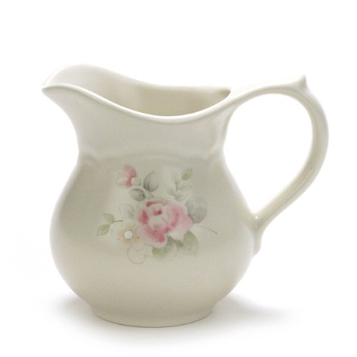 Tea Rose by Pfaltzgraff, Stoneware Cream Pitcher