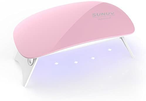 SUNUV UV Nail Lamp - Top Pick Mini UV Nail Lamp and Nail Dryer
