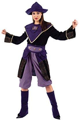 LIMIT Disfraz Adulto BUCANERA Pirata Oriente Talla S: Amazon.es ...