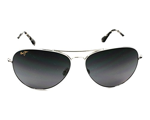 Sonnenbrille Maui Sonnenbrille Mavericks Jim Maui Jim Mavericks plata XTBHnaTt