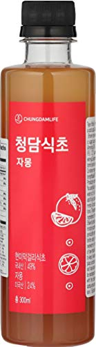 Chungdamlife Handmade Korean Fruit Vinegar Diet GRAPEFRUIT, 10oz(300ml)