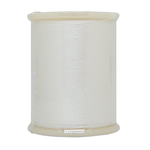 (YLI 20201-WHT 50wt T-27 Silk Thread, 100m, White)