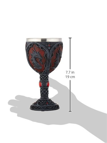 VERDUGO GIFT CO Royal Dragon Goblet by VERDUGO GIFT (Image #2)