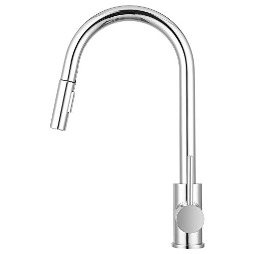 Bellevue kitchen faucet by pacific bay chrome features for Eco friendly kitchen faucets