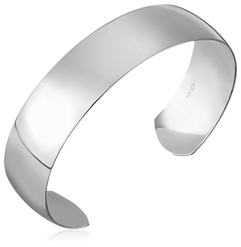 Sterling-Silver-Polished-Cuff-Bracelet