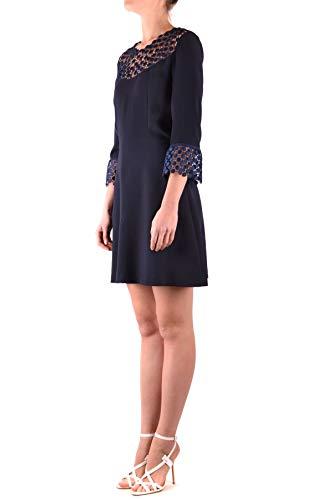 Mcbi37070 Pinko Poliéster Mujer Vestido Azul Zw0Pgqx0