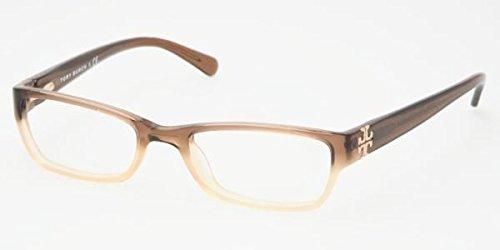 Tory Burch TY 2003 858 Brown Optical RX Eyeglasses - - Prescription Burch Tory Sunglasses