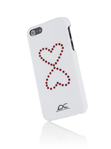 Diamond Cover 303146 Case inkl. Displayschutzfolie mit Kristallen von Swarovski  für Apple iPhone 5/5S
