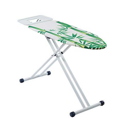 (Mabel Home Ironing Board, Solid Steam Iron Rest, Adjustable Height + Extra Cover)