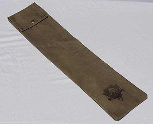 Bushcraft Bucksaw Bag, Canoe Saw Sleeve, Waxed Canvas, 24 Saw Bag