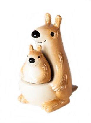 Kangaroo and Joey Salt and Pepper Shaker Set