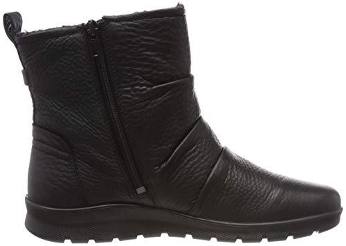 Ecco nero Delle Donne Stivali Nero Caviglia 1001 Babett xqPTIY