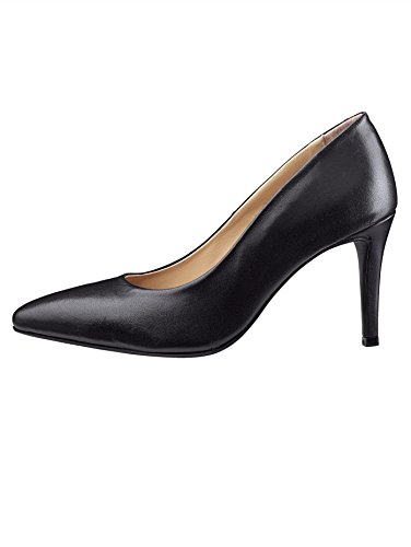 Silhouette eleganter Schwarz Liva Loop Damen by Spitzer Pumps in YRxzqUa