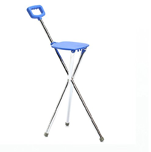 - GAOMEI Three-foot cane multifunctional old walking stick cane stool aluminum Walker