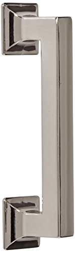 Hickory Hardware P3011-14 Studio Collection Cabinet Pull, 3.78-Inch, Bright Nickel