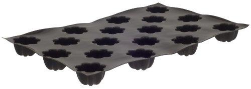 Flexipan 336397 Mini Charlottes Nonstick Sheet Mold by Matfer Bourgeat