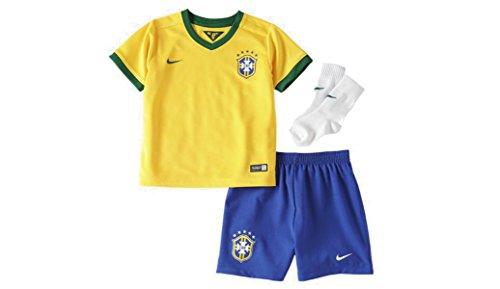 Nike Cbf Infants Home Kit (Varsity Maize) (3-6) (Brazilian Jersey)
