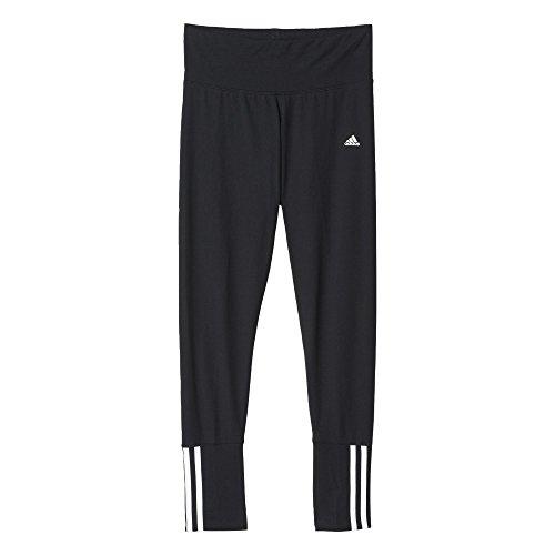 adidas Essentials Mid 3S Tight - Prenda Negro / Blanco