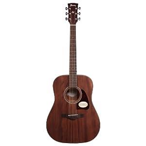 Ibanez aw54opn Westerngitarre Artwood Dreadnought Akustikgitarre natur–Open Pore Natural