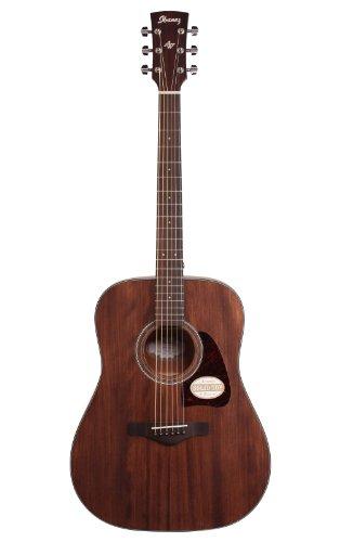 Ibanez AW54OPN Artwood Dreadnought Acoustic Guitar – Open Pore Natural 31kXA 8XuZL