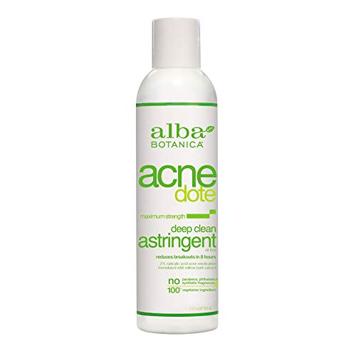 Alba Botanica Acnedote Maximum Strength Deep Clean Astringent, 6 Ounce