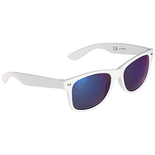 defabe9c5 Ultrasport Wave Gafas de Sol, Unisex Adulto, Blanco/Azul: Amazon.es:  Deportes y aire libre