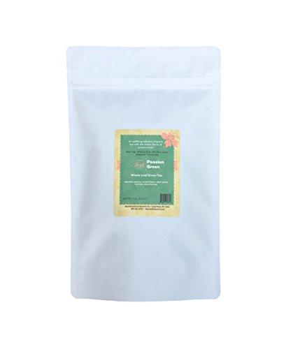 Heavenly Tea Leaves Passion Green Tea, Bulk Loose Leaf Tea, 1 Lb. Resealable Pouch ()