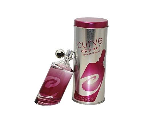 Liz Edc Claiborne Spray (Curve Appeal by Liz Claiborne For Women 2.5 oz EDC Spray Tester)