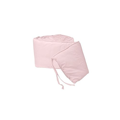 BabyDoll-Tailored-Baby-Porta-Crib-Bumpers-Pink-24x38