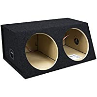 Bbox E12DM Dual 12 Sealed Angled Subwoofer Box
