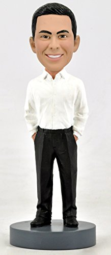 Personalized Custom Bobblehead - Male Business Casual (Bobble Casual Head Custom)